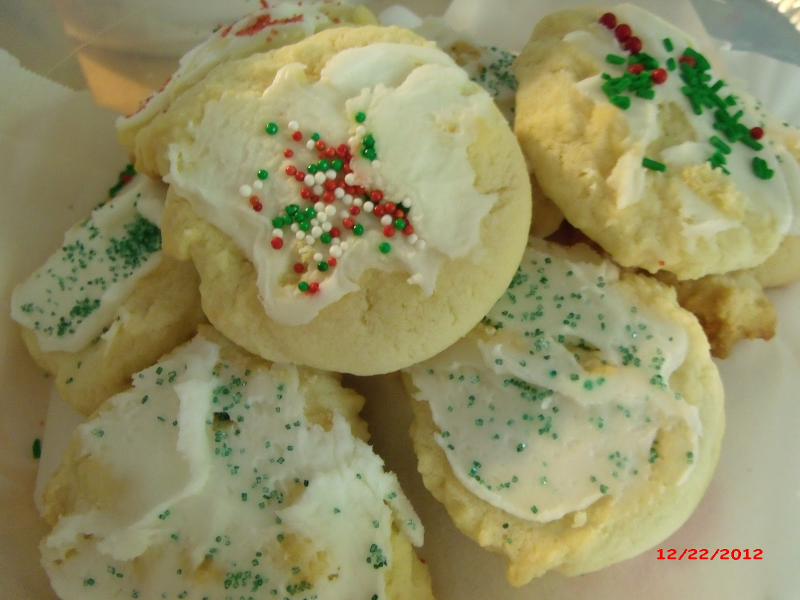 This is the BEST sugar cookie recipe that I have ever tried...and ...