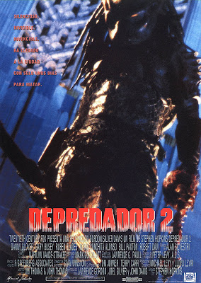 Depredador 2, Stephen Hopkins, Danny Glover, Gary Busey, Bill Paxton, María Conchita Alonso