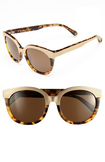 Sunglasses With Metal And Tortoise shades