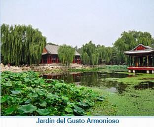 El encanto de china el r o yangts d a 5 palacio de for Jardin imperial chino