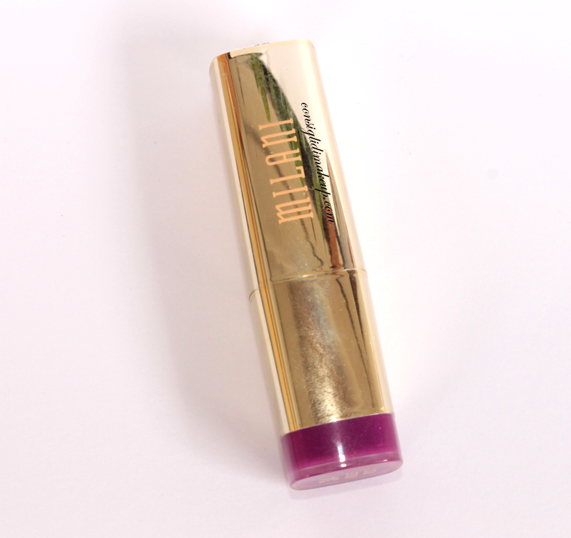 review color statement lipstick milani