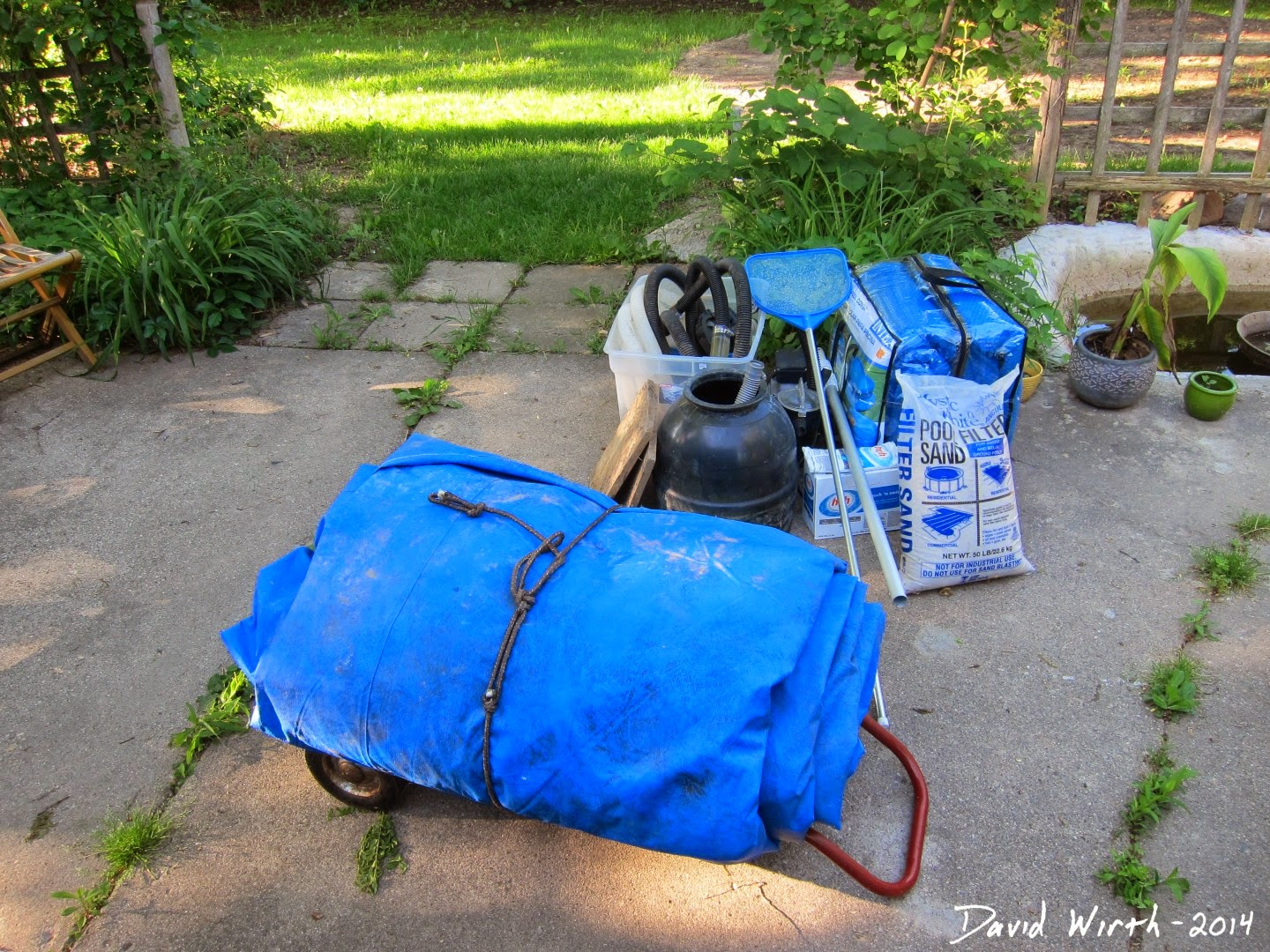 how to pool, cover, dolly, sand, pool filter sand