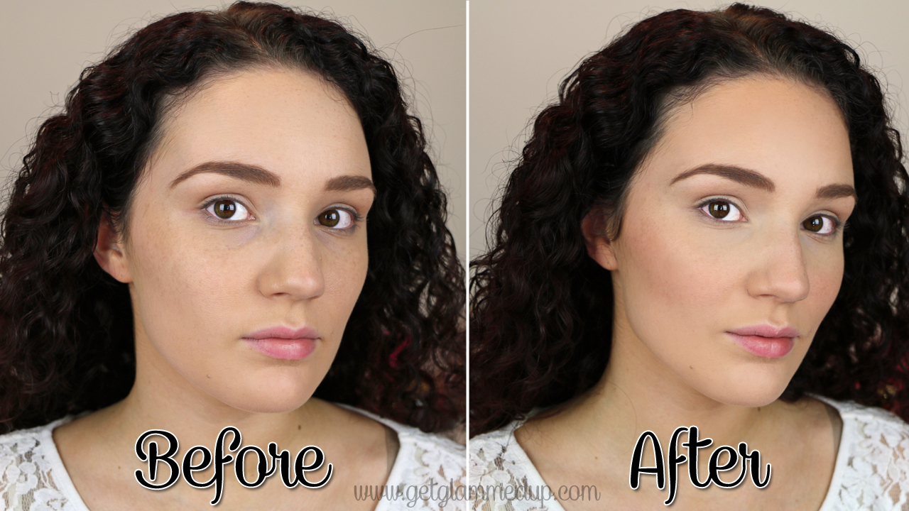 Before And After Contouring And Highlighting