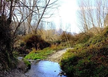 El riu de Penàguila, Frainos o Farinós.