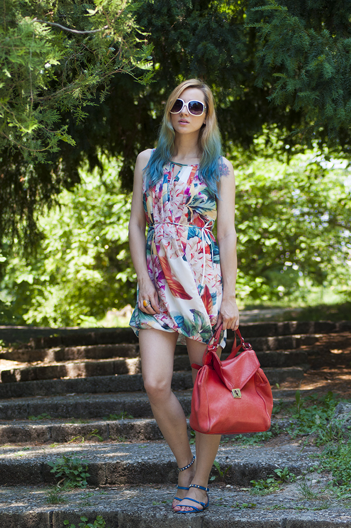 Skinny Buddha H&M floral dress
