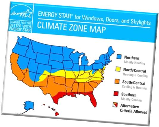 As You Can See Energy Star Levels Vary Depending On Where You Live So Make Sure You Know The Zone In Which You Are Located Also Keep In Mind That Some