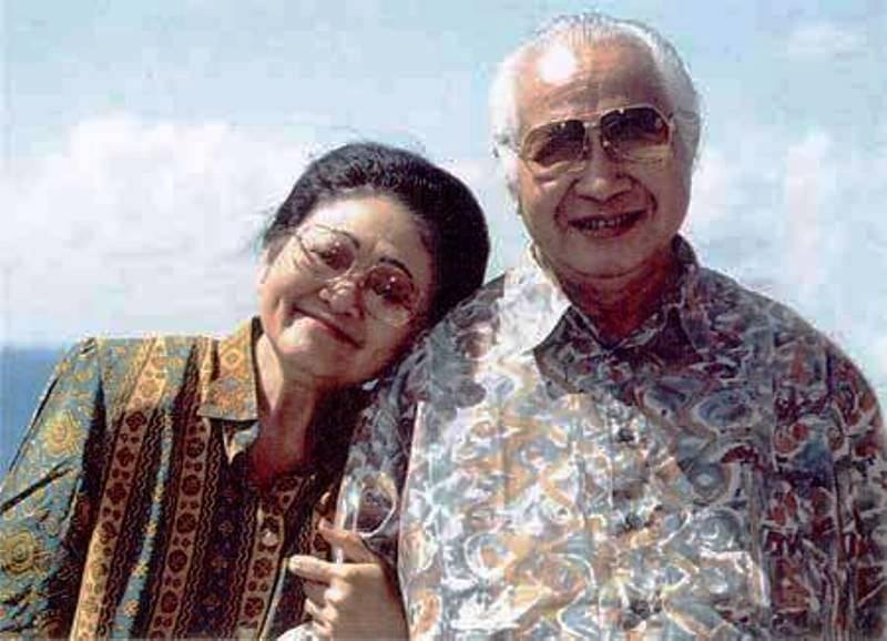 Ibu Tien dan Soeharto