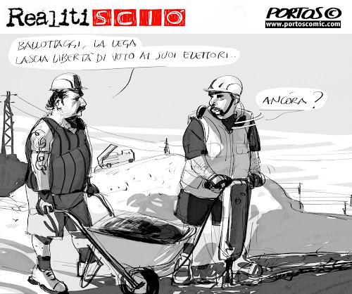Comic fondi strip