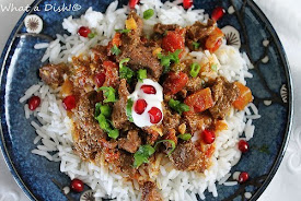 Recently- Afghani-Style Beef Korma