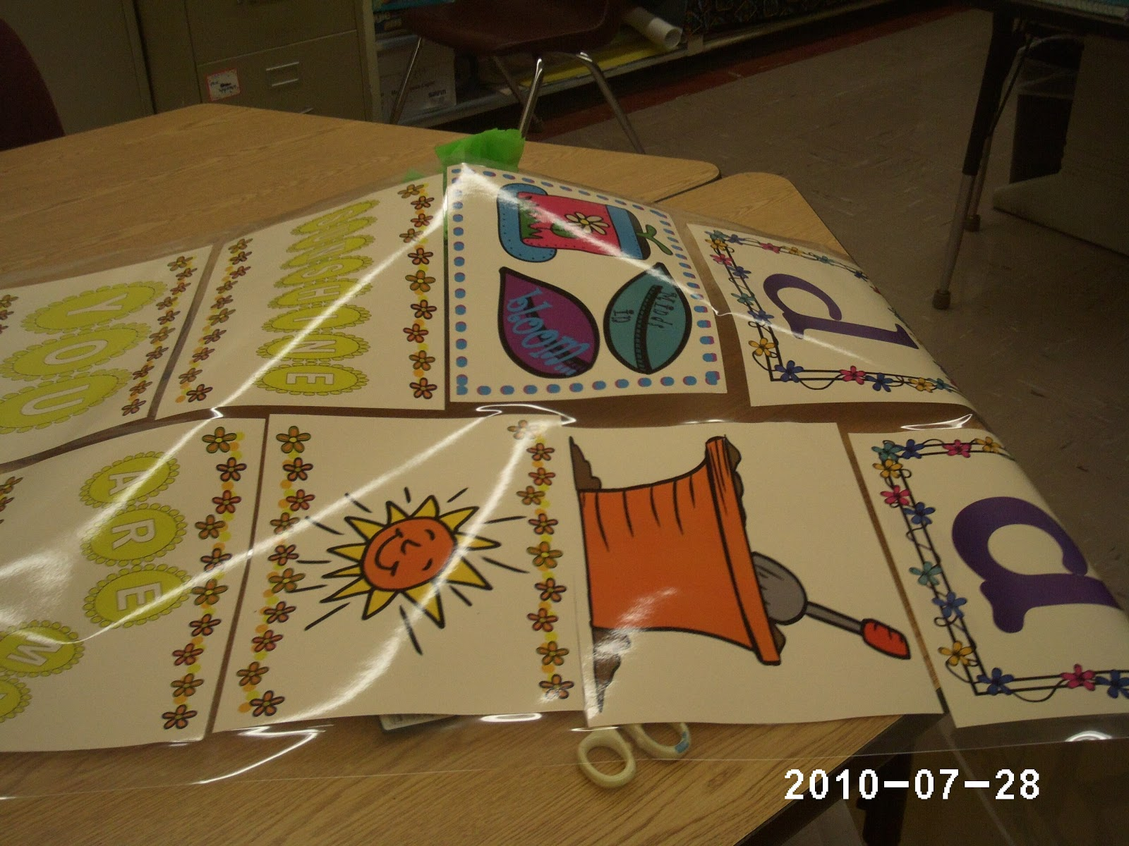 ... : Garden Themed Bulletin Board~ u0026quot;Positive Thinking and Reading