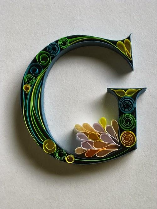07-G-Quilling-Illustrator-Typographer-Calligrapher-Paper-Sculptor-Sabeena-Karnik-Mumbai-India-Sculptures-A-to-Z-www-designstack-co