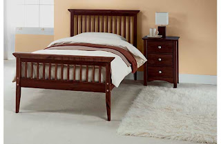 Wood Frame Bed