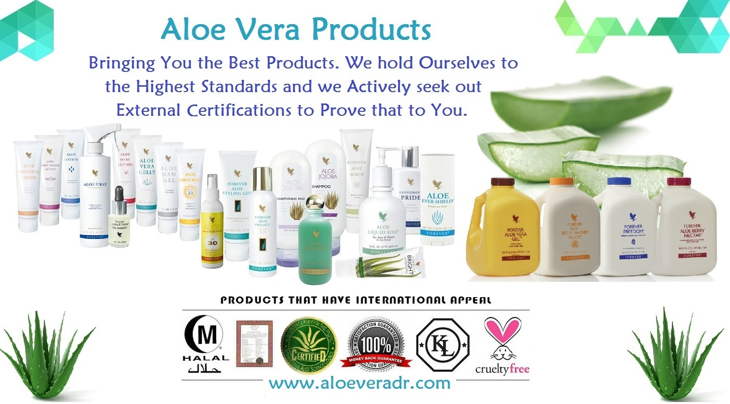 Forever Living Products Aloe Vera Health and Vitality