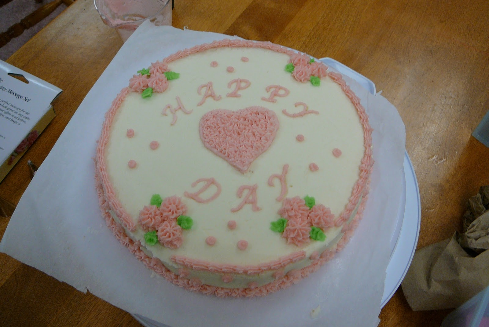 Cake Decorating Course Great Yarmouth : Rise and Bake!: Cake from my