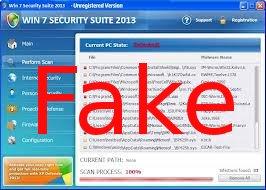 entfernen Win 7 Security Suite 2013