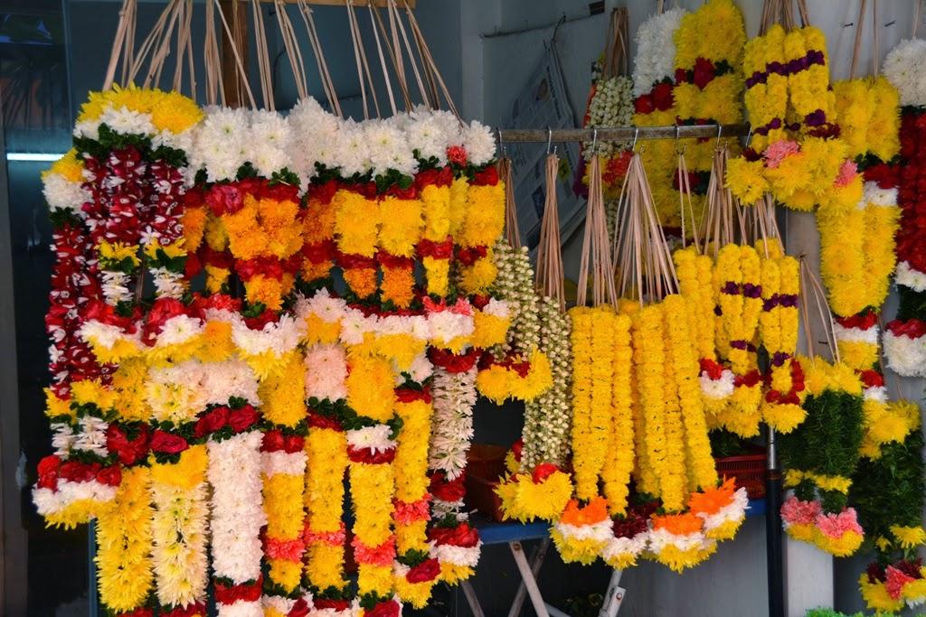 Little India Kuala Lumpur flowers