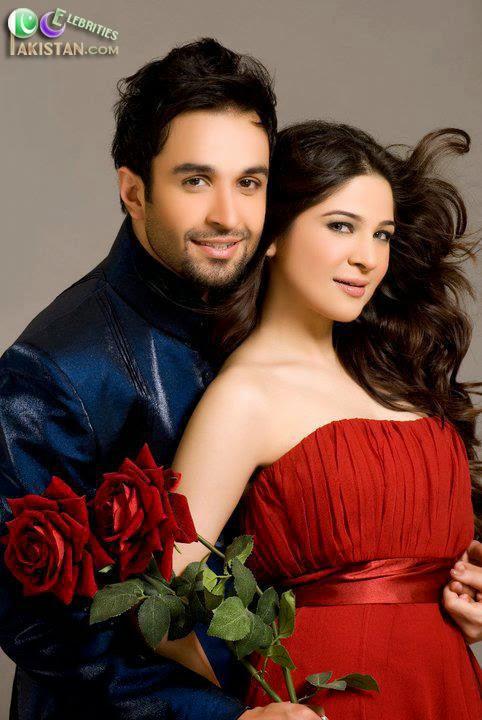 Ayesha Omar With Azfar Rehman On Valentines Day