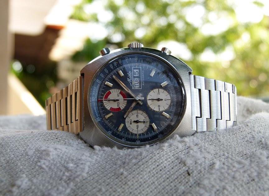 Jam Tangan Kuno: MIDO Automatic Chronograph. BIG and ...