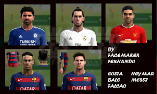 PES 2013 Facepack Numero 3 by Facemaker Fernando