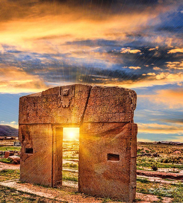 Historias chukutas puerta del sol tiahuanaco la paz for Que significa la puerta del sol