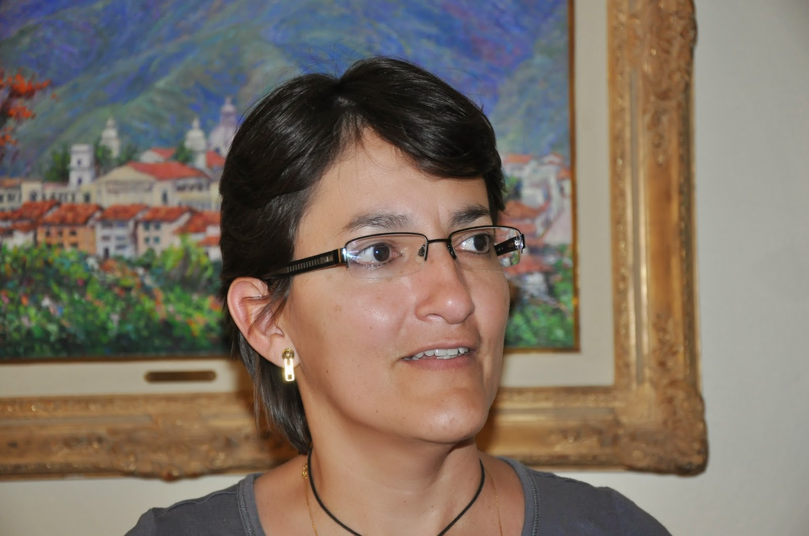 Rosalba Ulloa, directora de la Ofae (Foto Ramón Pico)