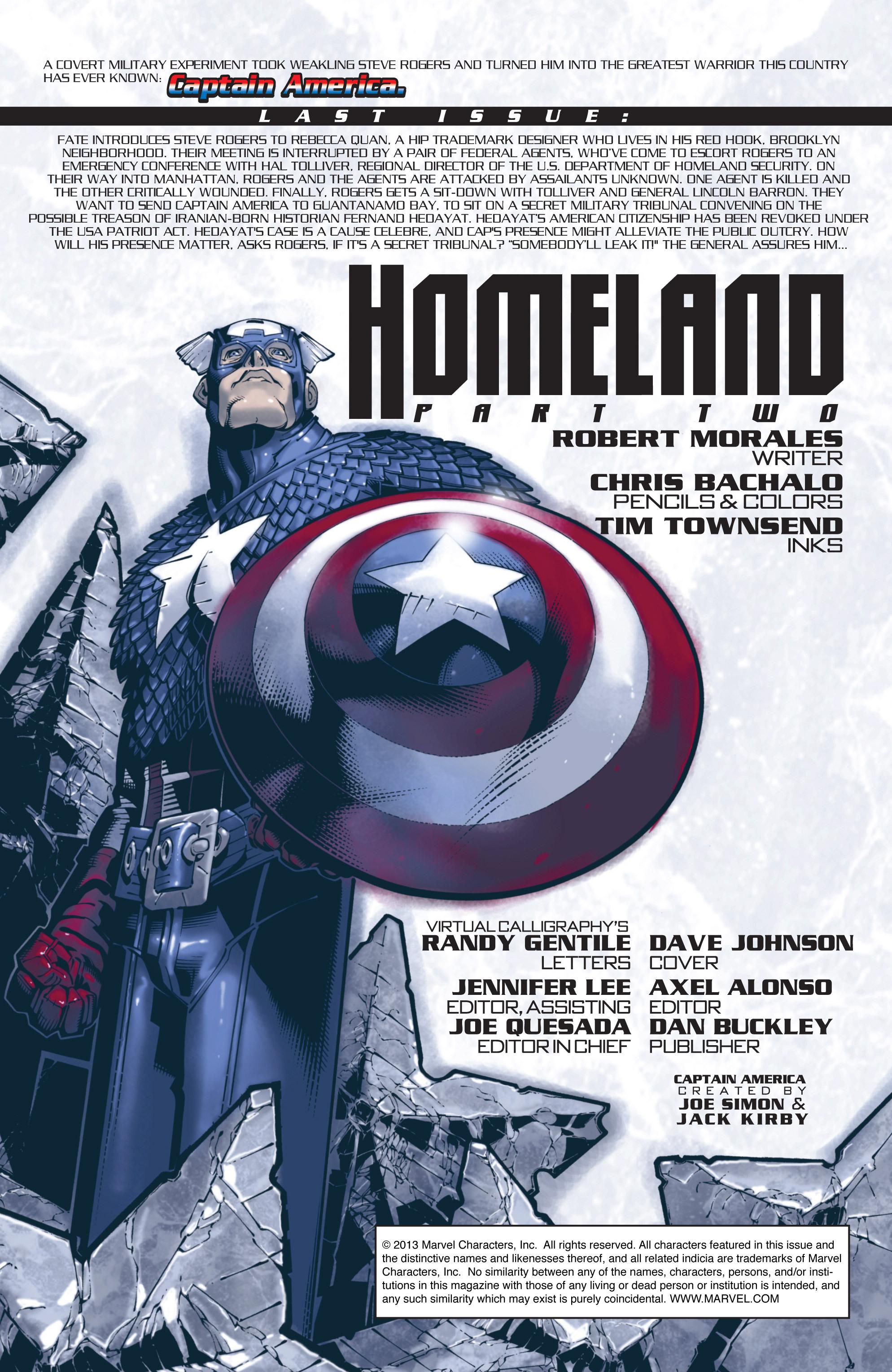 Captain America (2002) Issue #22 #23 - English 2
