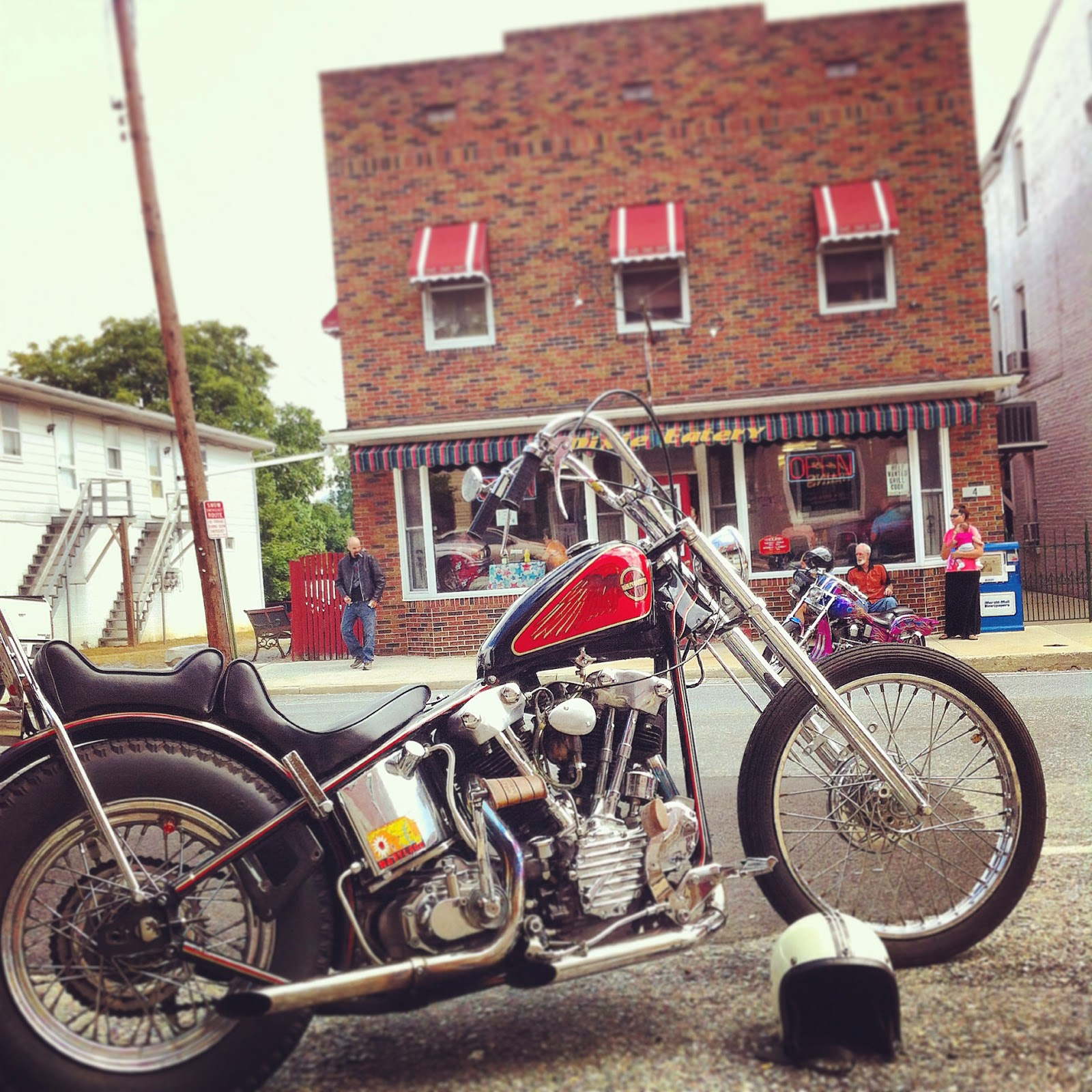 1946 knucklehead chopper for sale