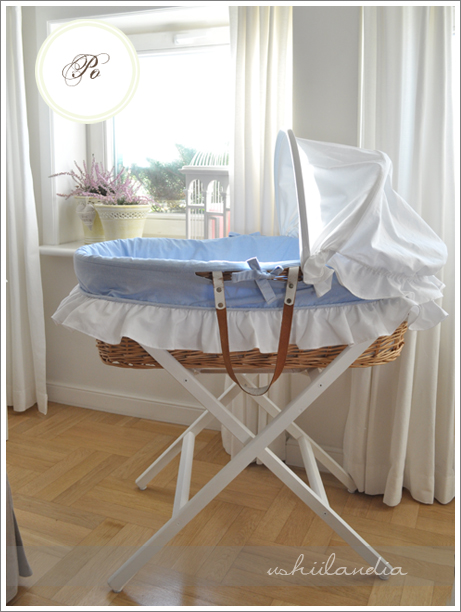 koszyk mojżesza dla noworodka - po odnowieniu / moses basket for infants - after