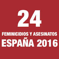 Feminicidios y asesinatos España 2016