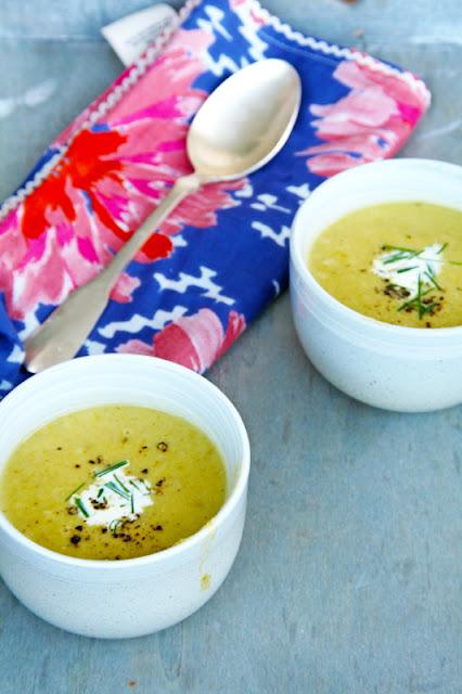 Asparagus soup – Σούπα σπαράγγια