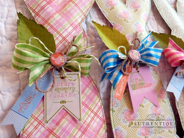 "Authentique PaperSpring ""Promise"" Bunnies"