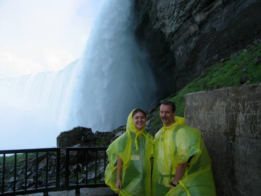 CHIARA ED IO NEGLI STATI UNITI D'AMERICA: cascate del Niagara
