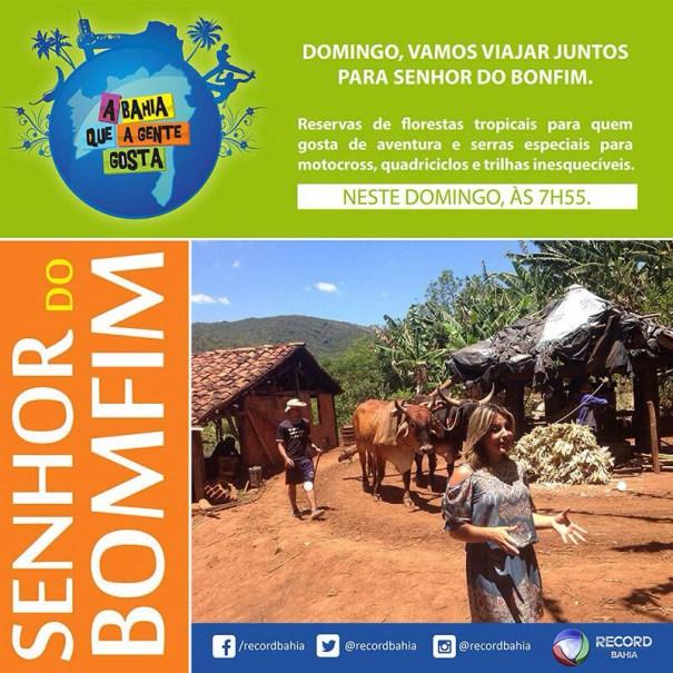 BONFIM NA TELA DA RECORD NESTE DOMINGO (10)
