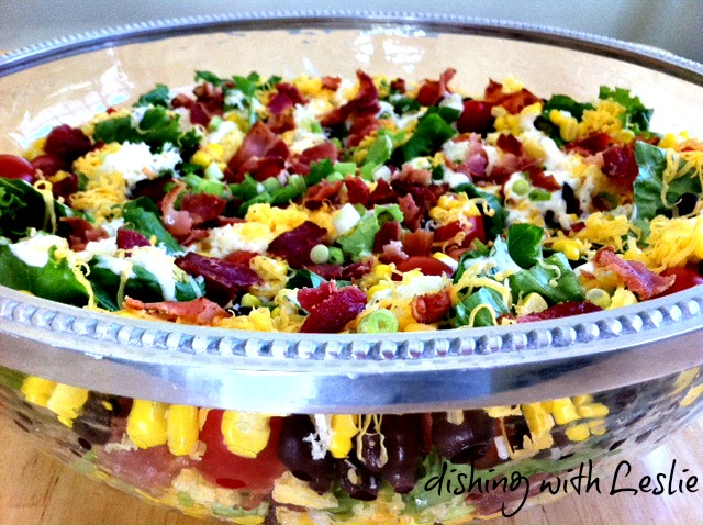 Corn Bread Salad Recipe — Dishmaps