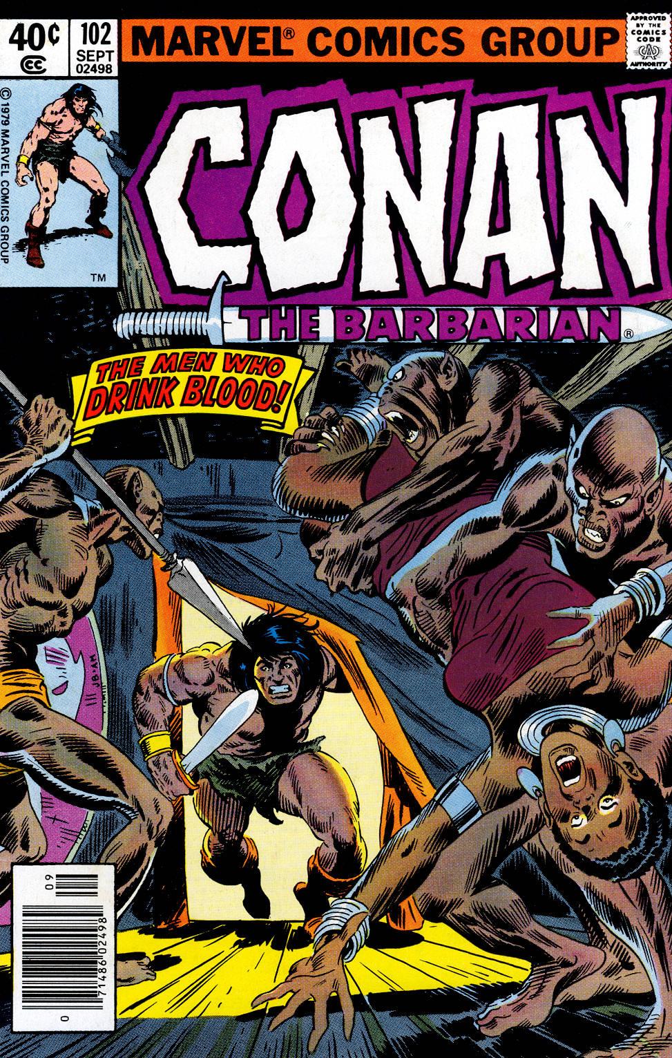 Conan the Barbarian (1970) Issue #102 #114 - English 1