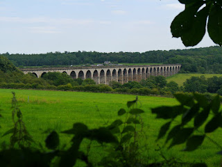 The impressive Crimple Viaduct as seen on the Harrogate Ringway