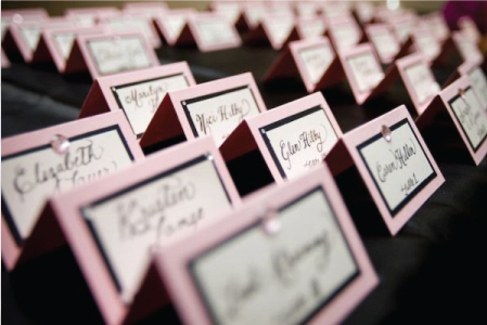 Emily Amp Kevin Are Having A Wedding Table Number Cards And Escort Cards