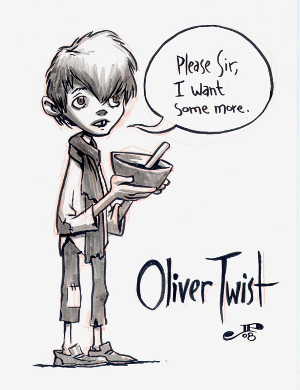 a review of character trait development in oliver twist by charles dickens How does he come to be mine  daughters of charles dickens,  must have been involved in simultaneously writing the pickwick papers and oliver twist,.