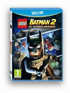 Box art for Wii U version of Lego Batman 2: DC Super Heroes