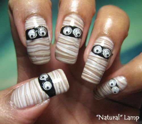 Easy Halloween Nail Art For Short Nails : Superb cute halloween nail art ideas