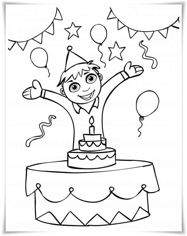 Malvorlagen für den Geburtstag - Malvorlagen Für Geburtstag