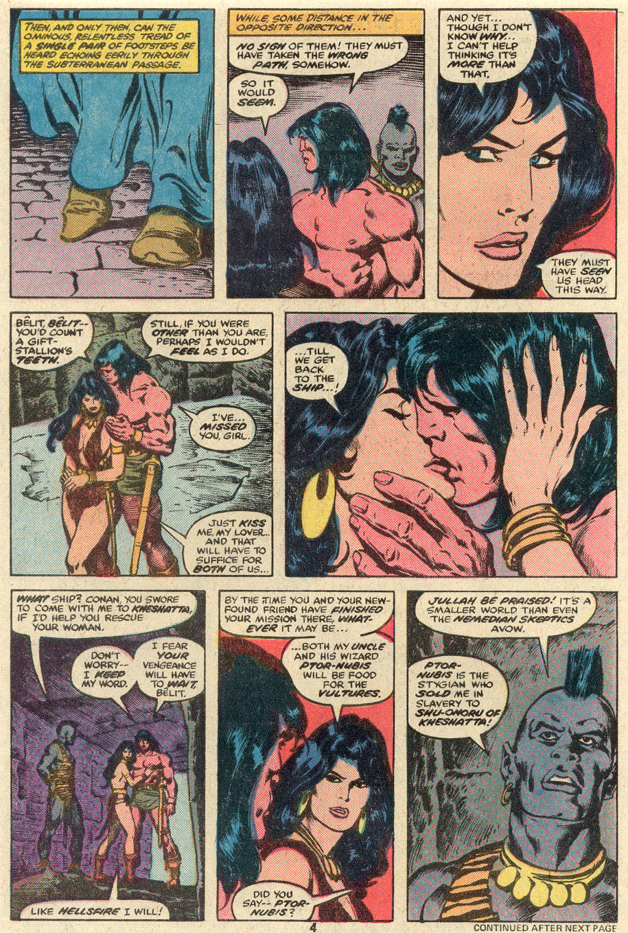 Conan the Barbarian (1970) Issue #89 #101 - English 5