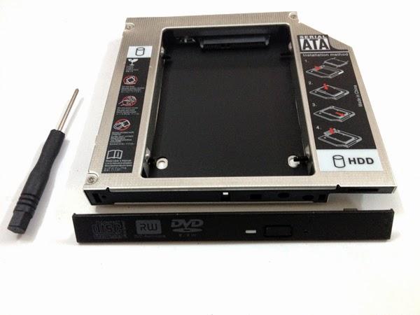 Hardware tips Cách lắp 2 ổ cứng SSD HDD cho mọi laptop