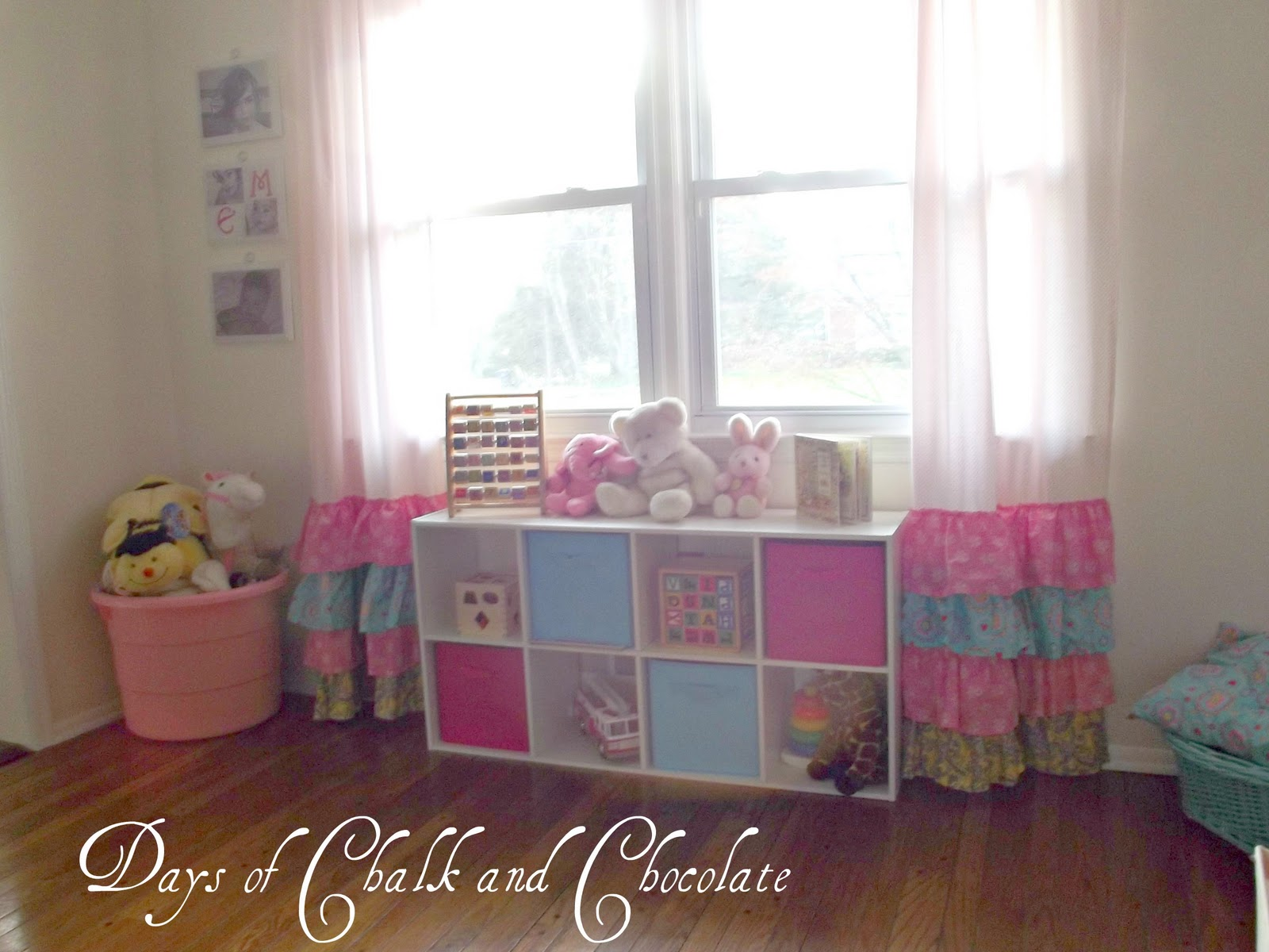 Girly Ruffled Curtains And Inspiration