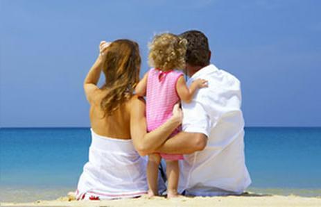 bebekle tatile çıkmak