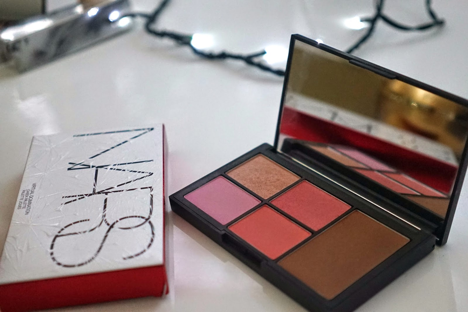 Nars domination palette review
