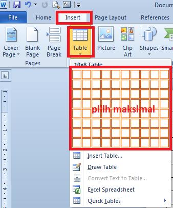 Cara Membuat Kartu Ujian Otomatis Di Excel dan Word