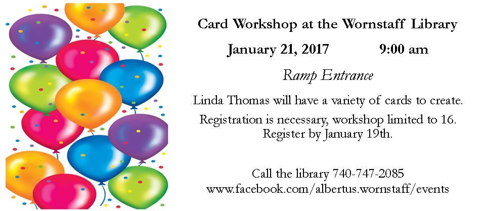 Card workshop