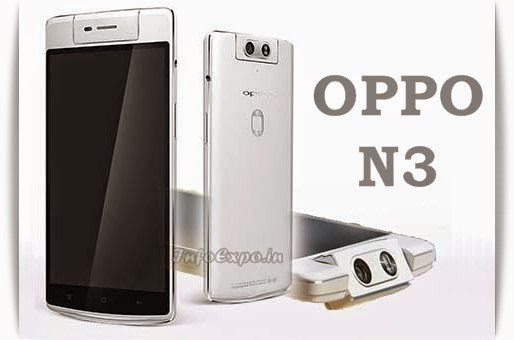 Oppo N3: 5.5 inch,2.3 GHz Krait Quad-core Android Phone Specs, Price