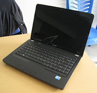 laptop second compaq cq42 core i3